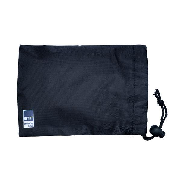STT Battery bag 3pcs, 17.5 x 13 x 0.5cm, Nylon with bubble bag, indoor&outdoor, schwarz,