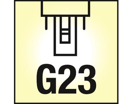 nosec s 7w 840 4000k kalt weiss sockel g23. Black Bedroom Furniture Sets. Home Design Ideas