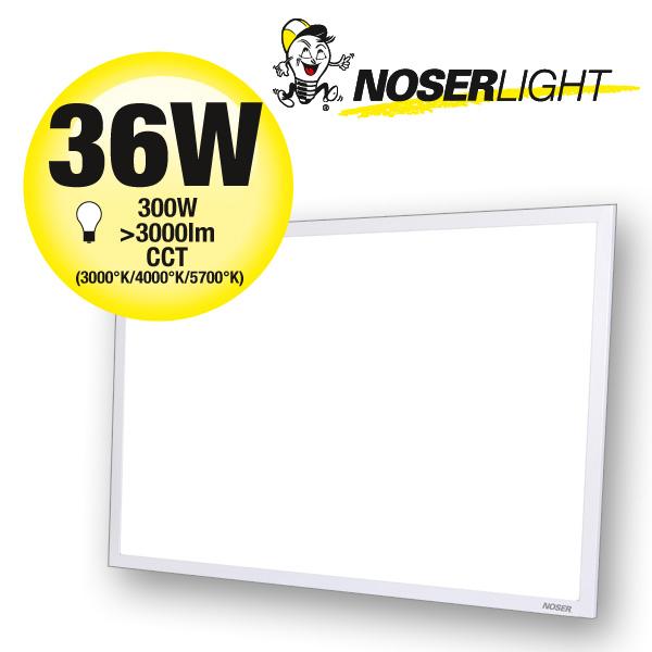 LED CCT Panel 36W, 3000-3600lm, CRI>80, 2700-5700°K, dimmbar, Art.Nr. XPLA3060-CCT